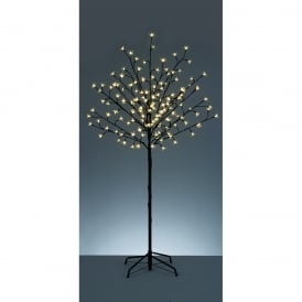 Premier Decorations 1.5m Cherry Blossom Tree with 150 White LED's