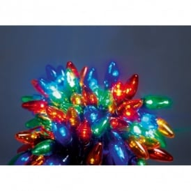 Premier Decorations 120 LED Set of Multi Coloured Multi Action Chasing Lights