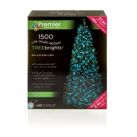 1500 Blue LED Treebrights with Multi Action Facility