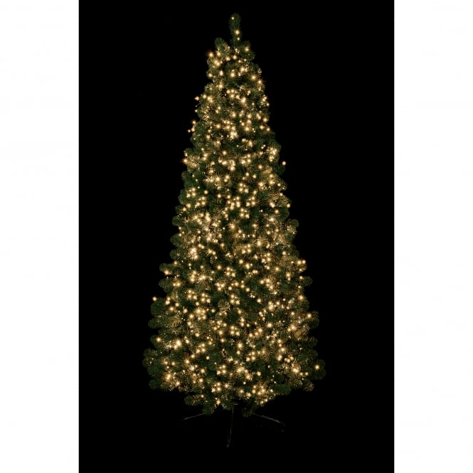 Premier Decorations 1500 Traditional Golden Glow LED Treebrights with Multi Action Facility