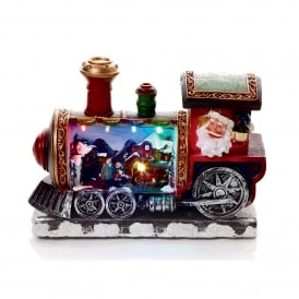 Battery Operated Illuminated Christmas Train