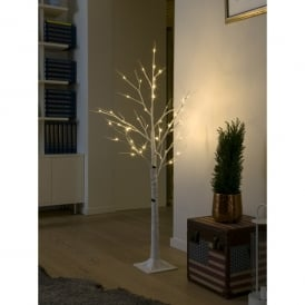 Konstsmide LED Decorative White Birch Tree with 48 LED's