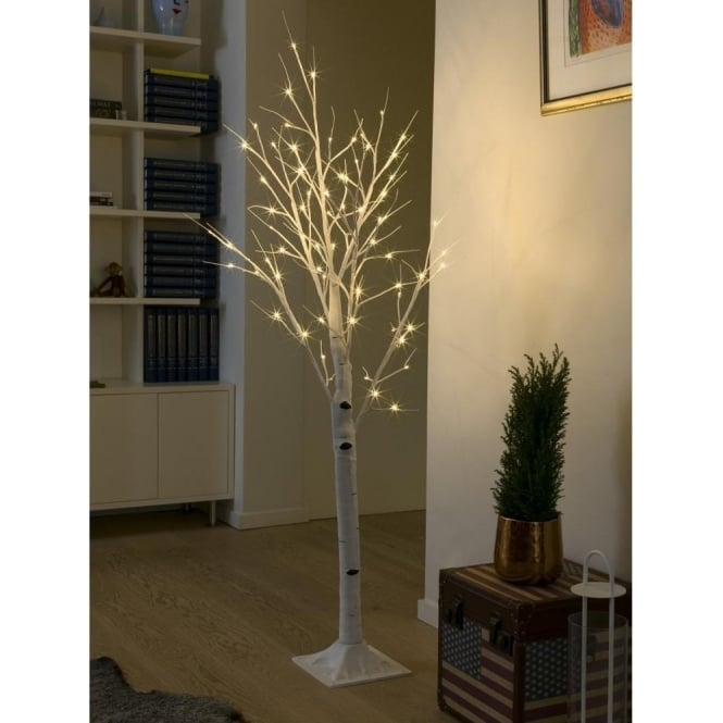 Konstsmide LED Decorative White Birch Tree with 72 LED's