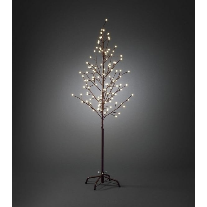 Konstsmide Outdoor Brown Decorative Tree with 120 Warm White LED's