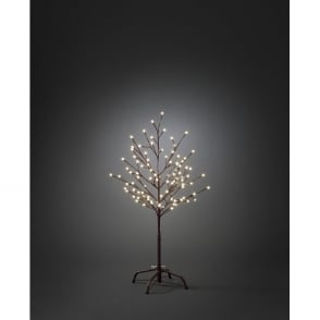 Konstsmide Outdoor Brown Decorative Tree with 96 Warm White LED's
