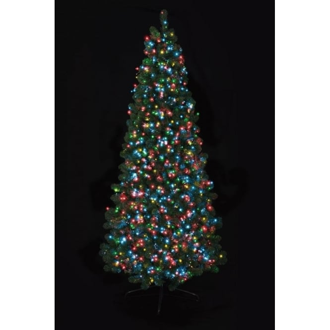 Premier Decorations Premier Decorations 1000 Multi-Coloured LED Tree Timebrights with Multi-Action Facility