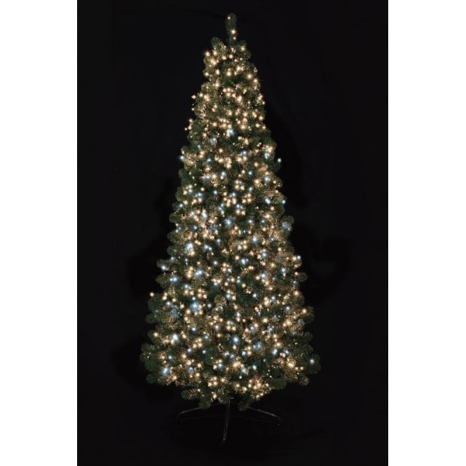 Premier Decorations Premier Decorations 1000 White and Warm White LED Tree Timebrights with Multi-Action Facility