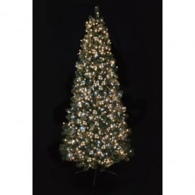 Premier Decorations 1000 White and Warm White LED Tree Timebrights with Multi-Action Facility