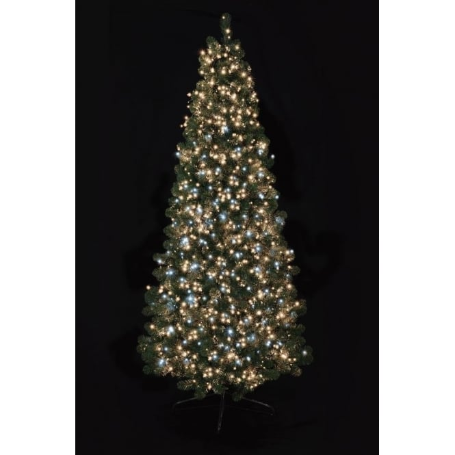 Premier Decorations 1000 White and Warm White LED Treebrights with Multi-Action Facility