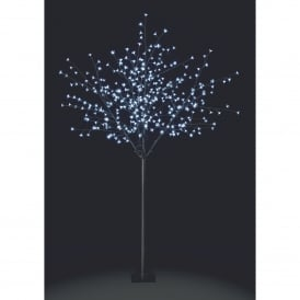2.1m Osaka Cherry Tree with White LED