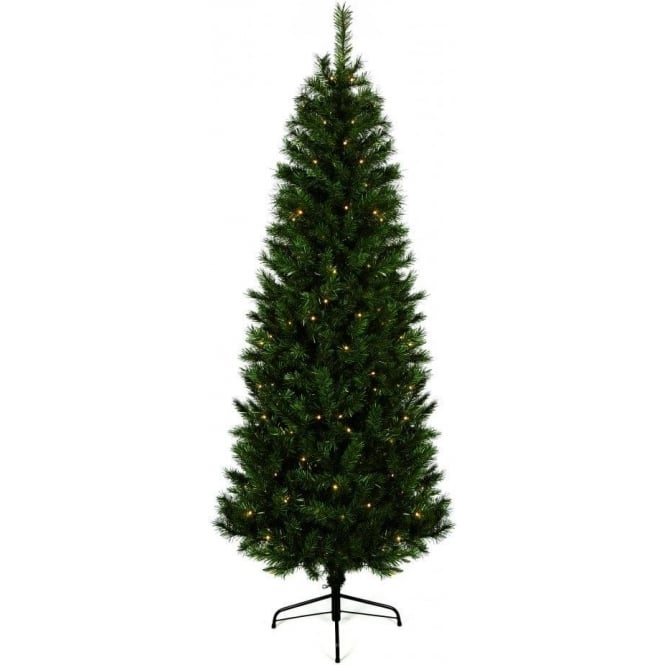 Premier Decorations Pre-Lit Monterey Fir Artificial Christmas Tree With 180 Warm White LED's