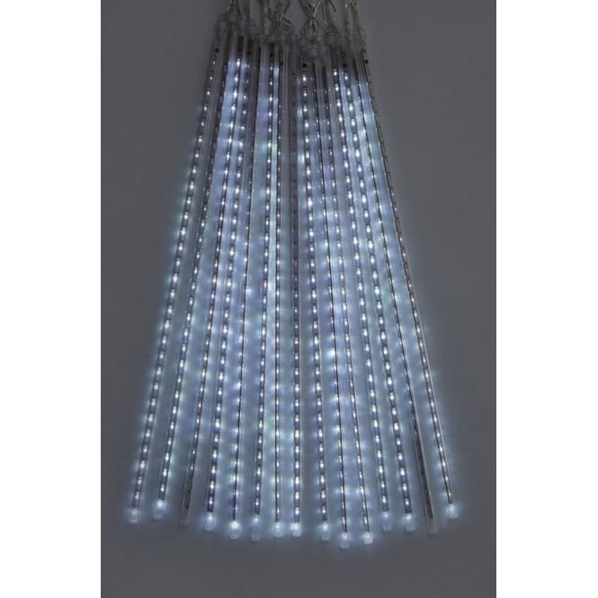 Premier Decorations Set of 15 Snowing Shower Lights with 450 White LED's