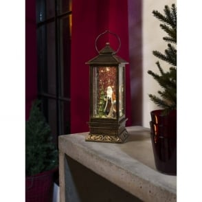 Konstsmide Battery Operated Waterfilled Lantern with LED